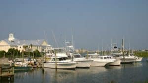picture of boats in Murrells Inlet SC